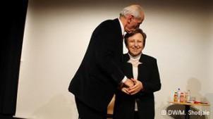 Lahiji und seine Kollegin, die Friedensnobelpreisträgerin Shirin Ebadi in Hannover - Foto: Mitra Shojaee