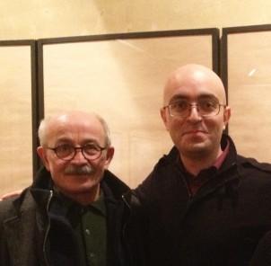 Ali Nassir (li.) und Behnam Bavand
