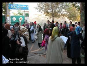 Hellen Vaziry: Solange die Diskriminierungen an der Tagesordnung der islamischen Regierung stehen, muss die Kampagne auch weiter gehen, in welcher Form auch immer!