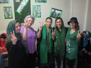 Auch die Mütter jener, die an der Grünen Bewegung mitwirken, fordern auf diese Weise die Regierung heraus!