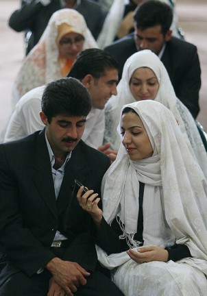 """Laut dem schiitisch-islamischen Recht ist eine außereheliche Beziehung ohne """"Sigheh"""" verboten. Foto: www.Mehrnews.com"""