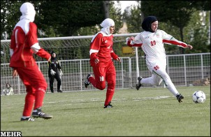 Fußball ist die beliebteste Sprotart im Iran