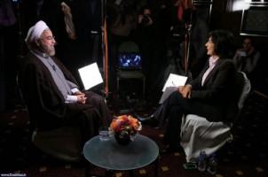 Rouhani im Gespräch mit Christiane Amanpour: Kein Journalist sitzt im Iran im Gefängnis!
