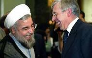 Hassan Rouhani hat gute Beziehungen zu Politikern in verschiedenen Ländern - hier mit Jack Straw, Ex-Außenminister Großbritanniens, 2003 - Foto: mazloomemoghtader.blogfa.com