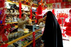 Das iranische Zollamt hat das Einführen von Artikeln, die einen Bezug zum Valentinstag aufwiesen, verboten