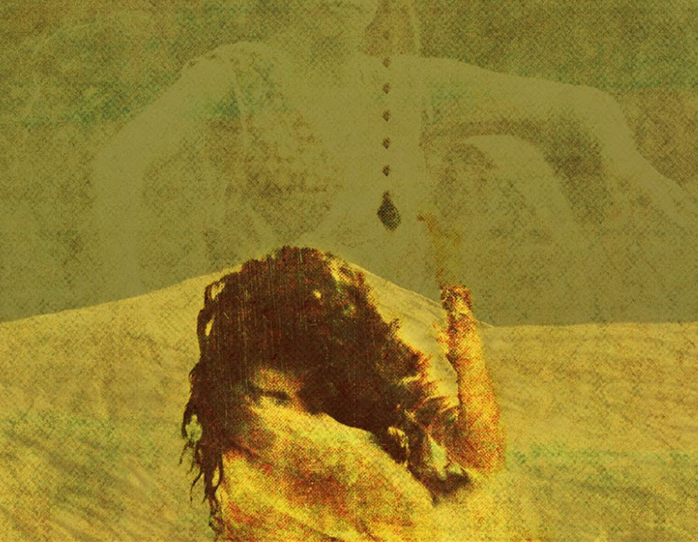 """""""Belief"""", 2009, 150 x 120 cm, Digital Painting Shervin Pashaie studierte bereits im Alter von 14 Jahren Malerei an der Teheraner Kunstschule """"Honarestan-e Honarhaye Ziba"""". Später wechselte Shervin Pashaie zu Grafik und Fotographie."""