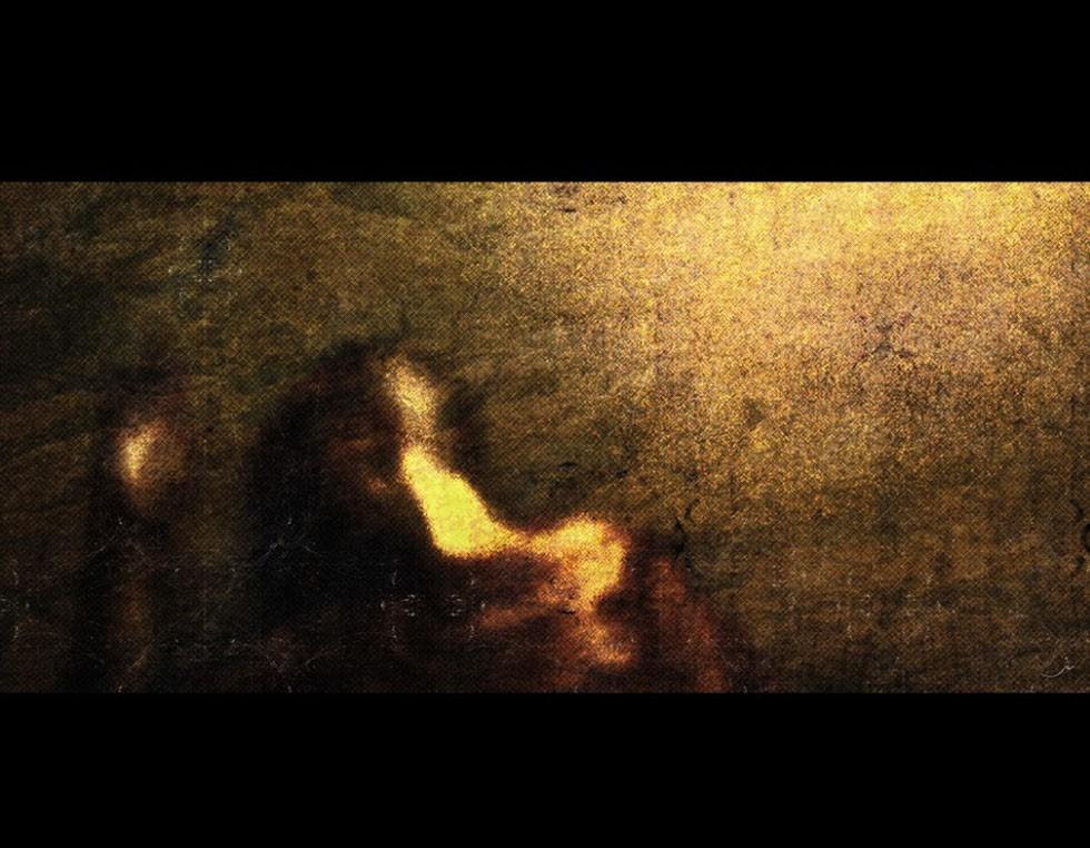 """""""The day of last man's birth"""", 2009, 150 x 120 cm - Digital Painting Shervin Pashaies Einzelausstellung in der Teheraner Galerie """"Seyhoon"""" im Herbst 2011 wurde vom Kulturministerium vorzeitig beendet, weil sie angeblich gegen islamische Gebote verstieß, so die offizielle Begründung."""