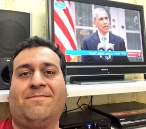 Selfie mit Obama zur Freude der Atomeinigung