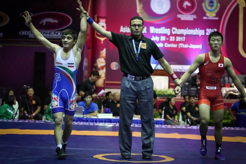 Irans Ringer-Nachwuchs hat bei den Asienmeisterschaften im griechisch-römischen Stil den ersten Platz belegt. Die Mannschaft holte bei dem Tournier drei Mal Gold, zwei Mal Silber und eine Bronze. Die Wettkämpfe fanden von Donnerstag 20. Bis Freitag 21. Juli in der thailändischen Hauptstadt Bangkok statt.