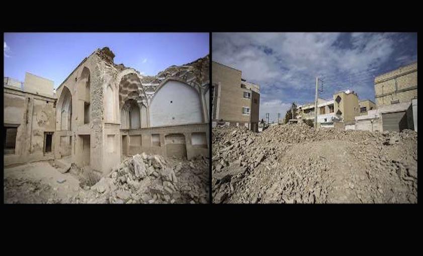 """Das historische Haus Nael in der iranischen Stadt Isfahan wurde nach und nach zerstört. Das seltene Ziegelsteinhaus aus der Zeit der Safawiden-Dynastie (1501 bis 1722) soll """"von den Nachbarn"""" abgerissen worden sein, sagt das Amt für Denkmalschutz in Isfahan. Das Webportal Cchamedanmag.ir schrieb Anfang Dezember, es sei im Iran üblich, dass """"mit oder ohne Wissen der Behörden"""" historische Gebäude Neubauten Platz machten: """"Am Ende wird irgend jemand deshalb angeklagt und zu einer Geldstrafe verurteilt, doch der Gewinn übersteigt bei weitem die Strafe."""" Es gibt wegen des Nael-Hauses allerdings Proteste seitens der Medien und Denkmalschützer."""