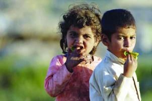 Ein Viertel der iranischen Kinder unter sechs Jahren leidet an Mangelernährung