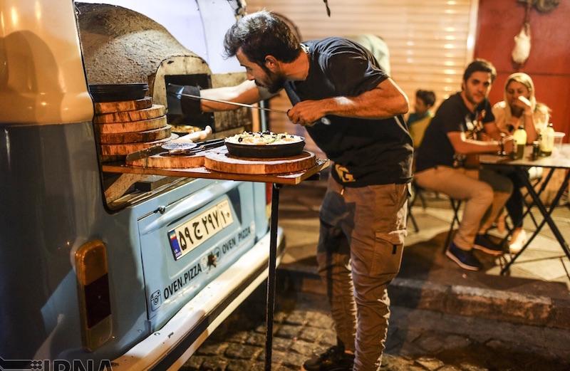 Mobile Restaurants und Cafes werden in der iranischen Hauptstadt immer beliebter - Foto: irna.ir