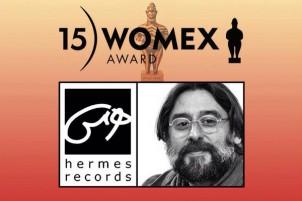 Ramin Sadighi, der erster Iraner, der  eine WOMEX-Auszeichnung erhält