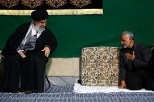 Soleinmani beim Staatsoberhaupt Ayatollah Ali Khamenei
