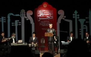 Das Folklore-Ensemble Sahand auf dem Fajr-Musikfestival in Teheran (Februar 2015)
