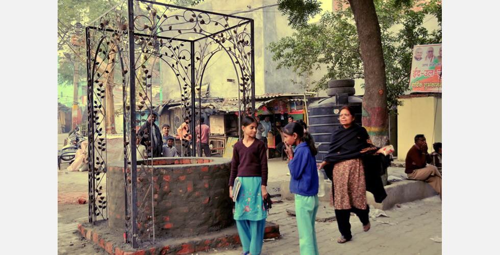 """Brunnen"", Mandana Moghaddam, Neu-Delhi, Indien, 2009"