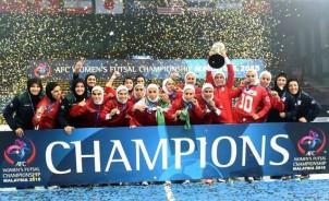 Iranische Futsalerinnen - Asienmeister 2015