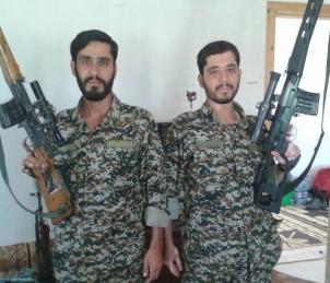 Mojtaba und Mostafa Bakhti, zwei Brüder aus der ostiranischen Mashad, die im syrischen Bürgerkrieg gefallen sind
