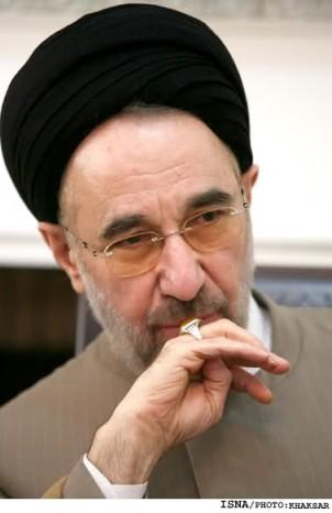 Der reformorientierter Politiker Mohammad Khatami - sein Foto darf in den iranischen Medien nicht erscheinen!
