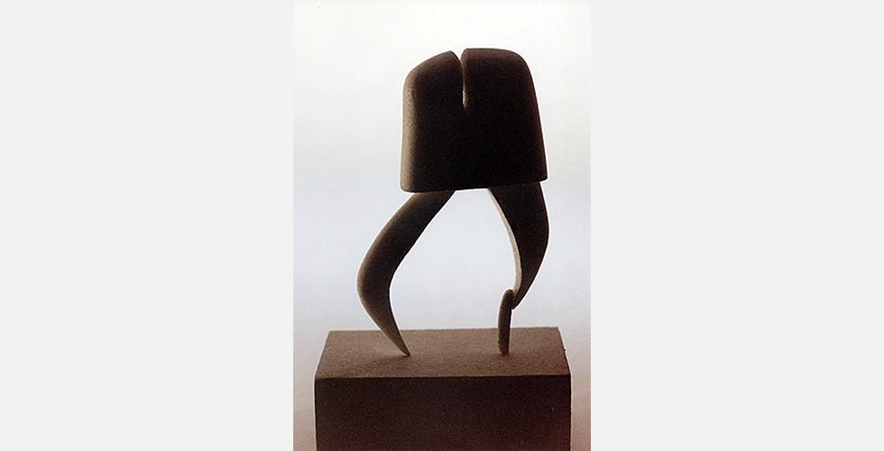 Ohne Titel, Bronze, 40x30x20cm, 1996