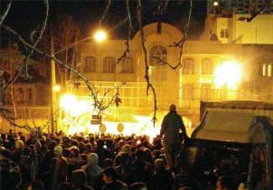 Am 02. Januar haben aufgebrachte Demonstranten die saudi-arabische Botschaft in Teheran gestürmt.