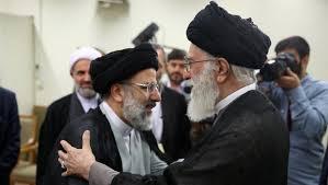 Ali Khamenei und sein Vertrauter Ibrahim Raissi