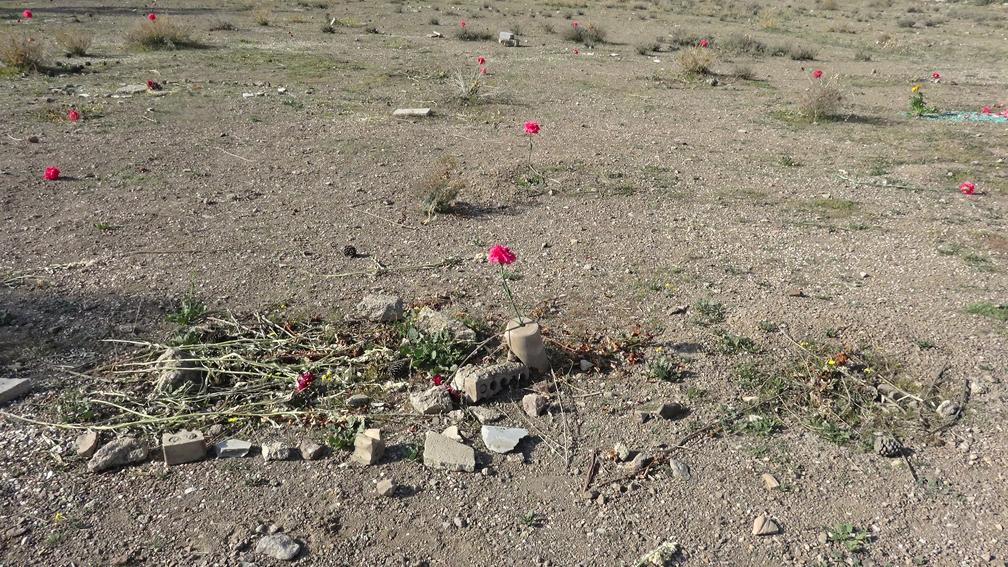 Khavaran-Friedhof in Teheran - Foto: Parastou Forouhar