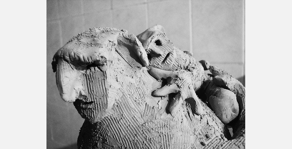 """Ohne Titel"", Keramik, 2005"