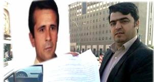 Jafar Azimzadeh (li.) und Esmail Abdi treten ab dem 1. Mai in den Hungerstreik