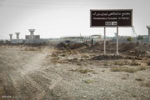 Das neue Teheraner Gefängnis soll das größte im Mittleren Osten sein