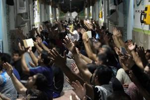 Religiöse Zeremonie im größten Gefängnis der iranischen Hauptstadt