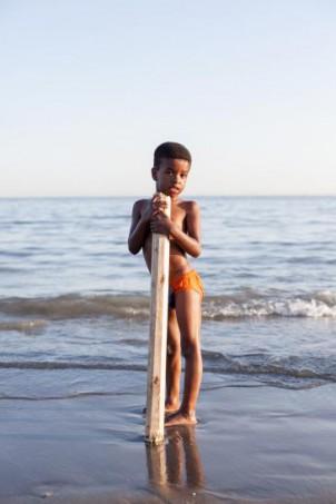 Ein Bandari-Junge - Foto: Mahdi Ehsaei