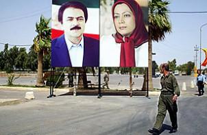 """Die Führer der Mudschahedin Masoud und Maryam Rajavi wachen über das """"Camp Ashraf"""" im Irak - Foto: bokhdinews.af"""