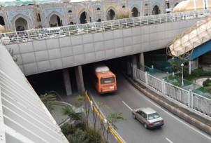 Unterführung in Maschad: Als hätte man ein Autobahnkreuz unter den Petersdom gelegt