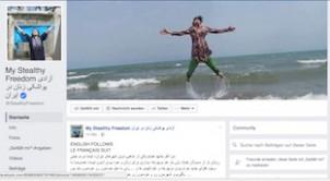Screen shot der Facebook-Seite StealthyFreedom