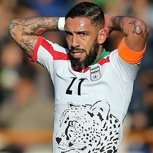 Ashkan Dejagah darf bei Länderspielen seine Arm-Tätowierungen zeigen