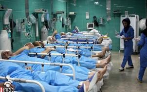 Allein auf den Intensivstationen iranischer Krankenhäuser fehlen 10.000 Betten