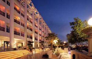 Grand Hotel Dariush, auf der iranischen Insel Kish - ein Vorzeigeprojekt vom in Deutschland lebenden Geschäftsmann Hossein Sabet