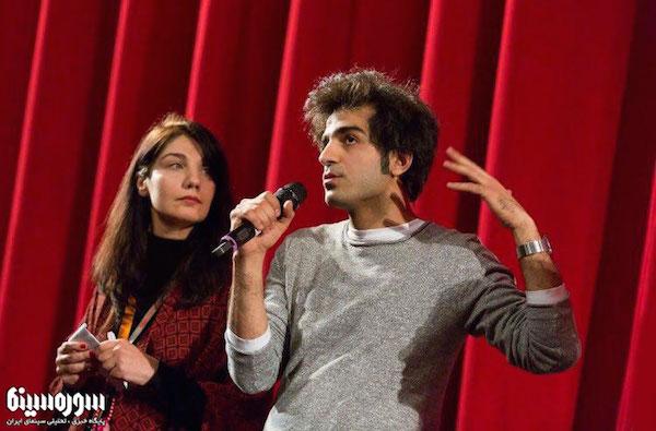 Regisseur Abed Abest nach der Vorführung seines Films auf der Berlinale - Foto: sourehcinema.ir