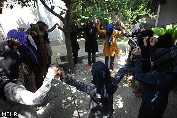 Im Iran gibt es 18 Frauenhäuser
