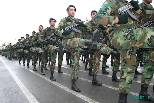 Quds-Brigade der iranischen Revolutionsgarde ist entscheidenen an den Kämpfen in Syrien und Irak beteiligt