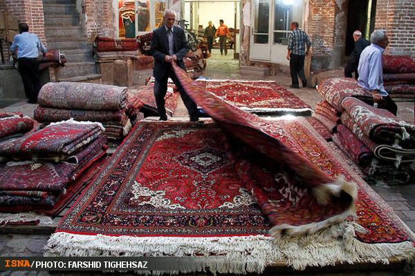 Perserteppich gehört nach wie vor zu den wichtigsten Exportgütern des Iran