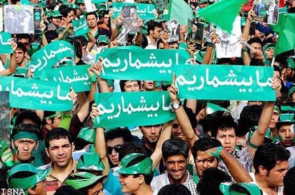 Bei den Protesten von 2009 (Grüne Bewegung) nutzten die Protestierenden die Möglichkeiten des Netzes und der sozialen Netzwerke zur Organisation