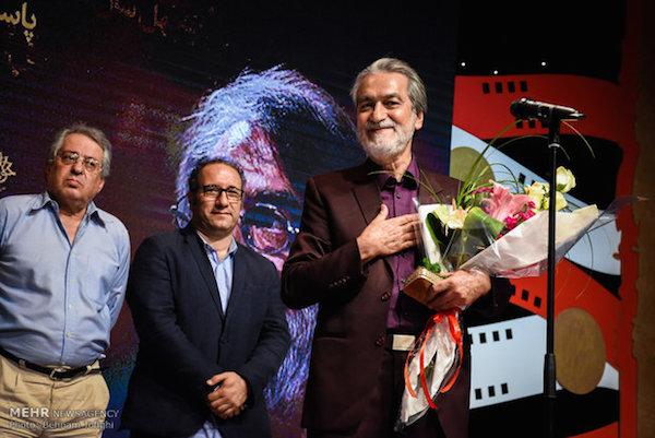 Majid Entezami. ausgezeichnet für sein Lebenswerk
