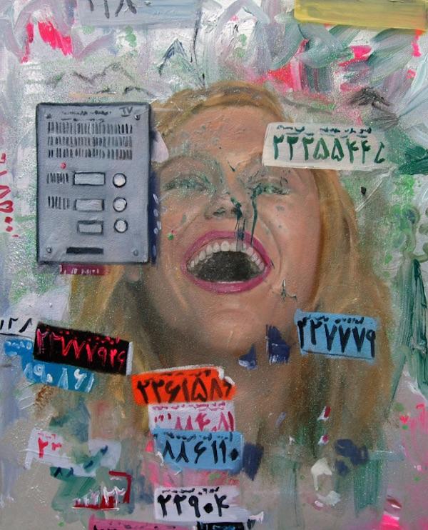 Beauty 3, 50cm x 40cm, oil on canvas, 2013 Begegnet man den Bilder von Myriam Quiel in Teheran, so erhält unser Verhältnis zu den Dingen die verschärfte Präsenz, ihm eine allgemeinere Spielart zuzugestehen und den Dingen selbst ihre weitläufigen Geschichten zu belassen. Für mehr siehe: http://myriamquiel.com/ Auswahl und Text: Christoph Sehl - sehl@iranjournal.org.