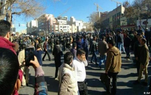 Neue Protestwelle im Iran (Dezember 2017)