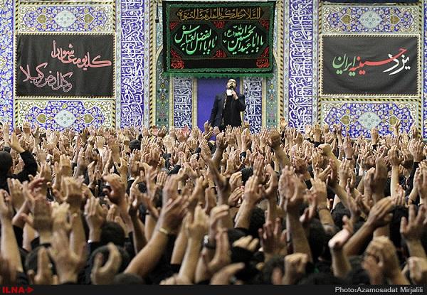 Selbstgeißelung am Todestag des dritten schiitischen Imams Hossein in Teheran
