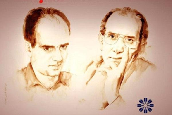 Mohammad Mokhtari und Mohammad Jafar Pouyandeh , zwei der aktiven Mitglieder des Schriftstellerverbandes , die von den Agenten des iranischen Informationsministeriums getötet wurden