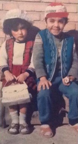 Golshifteh Farahani und ihr Bruder Azarakhsh Farahani