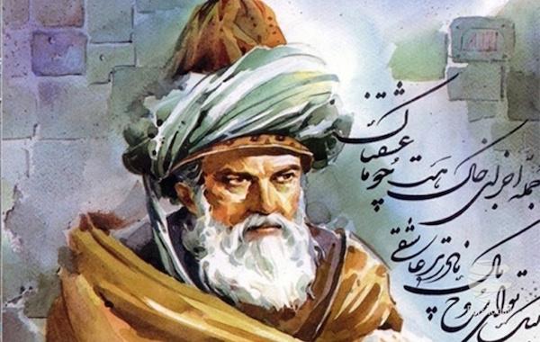 Rumi war einer der bedeutendsten persischsprachigen Dichter des Mittelalters